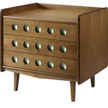 comoda-3-gavetas-vintage-em-madeira-marrom-e-verde-claro-b-EC000026889