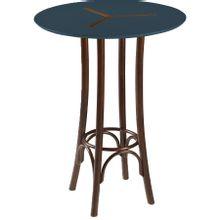 mesa-bistro-redonda-em-madeira-opzione-marrom-escuro-e-azul-petroleo-80x80cm-a-EC000027164
