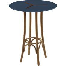 mesa-bistro-redonda-em-madeira-opzione-marrom-claro-e-azul-marinho-80x80cm-a-EC000027180