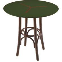 mesa-bistro-redonda-em-madeira-opzione-marrom-escuro-e-verde-petroleo-80x80cm-a-EC000028334