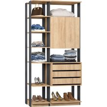 guarda-roupa-closet-com-2-portas-clothes-9006-em-mdp-bege-claro-e-grafite-c-EC000024969