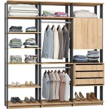 guarda-roupa-closet-com-2-portas-clothes-9009-em-mdp-bege-claro-e-espresso-c-EC000024984