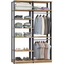 guarda-roupa-closet-com-7-prateleiras-clothes-9010-em-mdp-bege-claro-e-grafite-c-EC000024989