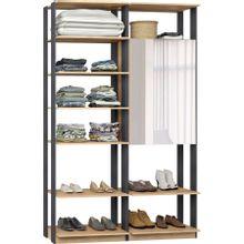 guarda-roupa-closet-com-2-portas-clothes-9012-em-mdp-bege-claro-e-grafite-c-EC000024999