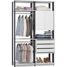 guarda-roupa-closet-2-portas-e-3-gavetas-clothes-9014-em-mdp-branco-e-grafite-c-EC000025007