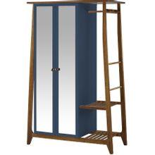 armario-com-espelho-para-quarto-em-madeira-2-portas-azul-marinho-e-marrom-stoka-a-EC000028543