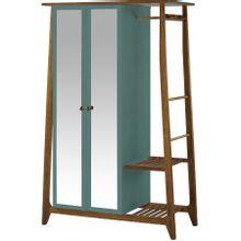 armario-com-espelho-para-quarto-em-madeira-2-portas-azul-esverdeado-e-marrom-stoka-a-EC000028549