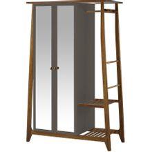 armario-com-espelho-para-quarto-em-madeira-2-portas-grafite-e-marrom-stoka-a-EC000028550
