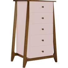comoda-5-gavetas-stoka-em-madeira-marrom-e-rosa-claro-a-EC000028603