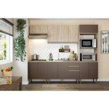 cozinha-compacta-5-pecas-12-portas-em-mdp-cook-marrom-e-bege-b-EC000025151