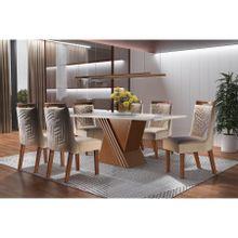 conjunto-mesa-de-jantar-com-6-cadeiras-kioto-em-mdf-suedy-creme-e-castanho-premio-a-EC000025346