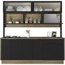 cozinha-6-portas-e-3-gavetas-com-cooktop-em-madeira-cook-marrom-e-preta-a-EC000029919