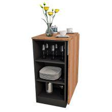 bancada-gourmet-de-cozinha-em-mdp-1-porta-enjoy-marrom-claro-e-preta-a-EC000025698