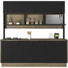 cozinha-6-portas-e-3-gavetas-com-cooktop-em-madeira-cook-marrom-e-preta-a-EC000029921