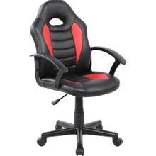 cadeira-gamer-infantil-pel--9353-em-pp-e-pu-giratoria-preta-e-vermelha-com-braco-b-EC000029925