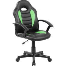 cadeira-gamer-infantil-pel--9353-em-pp-e-pu-giratoria-preta-e-verde-com-braco-b-EC000029928