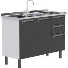 balcao-de-pia-para-cozinha-em-aco-com-2-portas-e-3-gavetas-roma-grafite-b-EC000025972