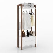 guarda-roupa-closet-2-gavetas-az1011-em-mdp-branco-e-marrom-mescla-a-EC000023749