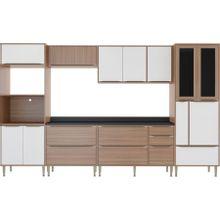 cozinha-compacta-com-7-pecas-14-portas-em-mdp-e-vidro-calabria-marrom-mescla-e-branco-EC000024183_1